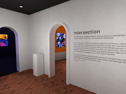 Intersection - A Digital Queer Art Exhibition