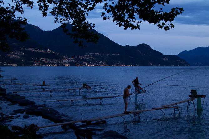 Night Fishing, Lake Como