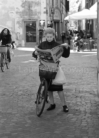 Woman Reading, Florence, Award Winner