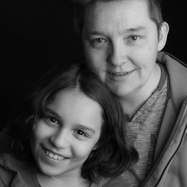 Elena, Teacher, and Daughter