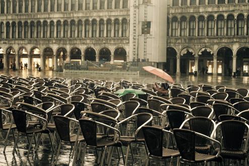 Piazza San Marco in the Rain