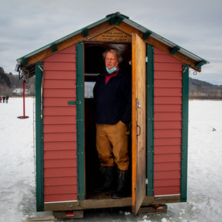 Ice Fisherman, VT