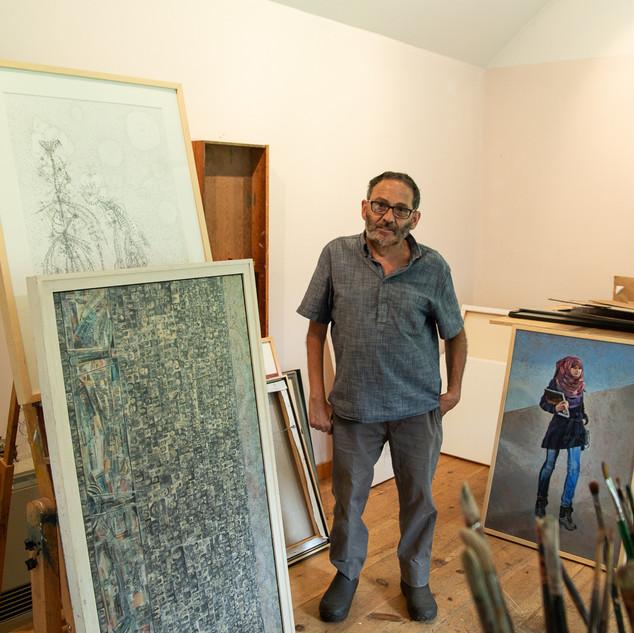 Mohammed Daoudi. Artist