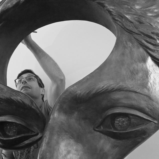 Michael Alfano, Sculptor
