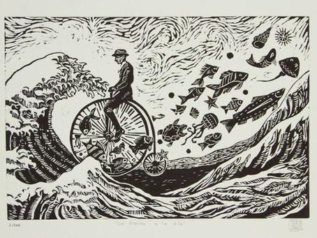 【雜記】Man facing the wave
