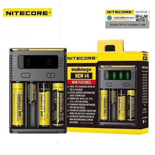 UK Nitecore New i4 2017 CR123A 26650 18650 AA/AAA Intellicharge Battery Charger