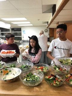 youth volunteers serving dinner 2.jpg