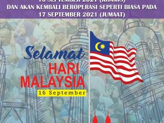 SELAMAT HARI 1 MALAYSIA