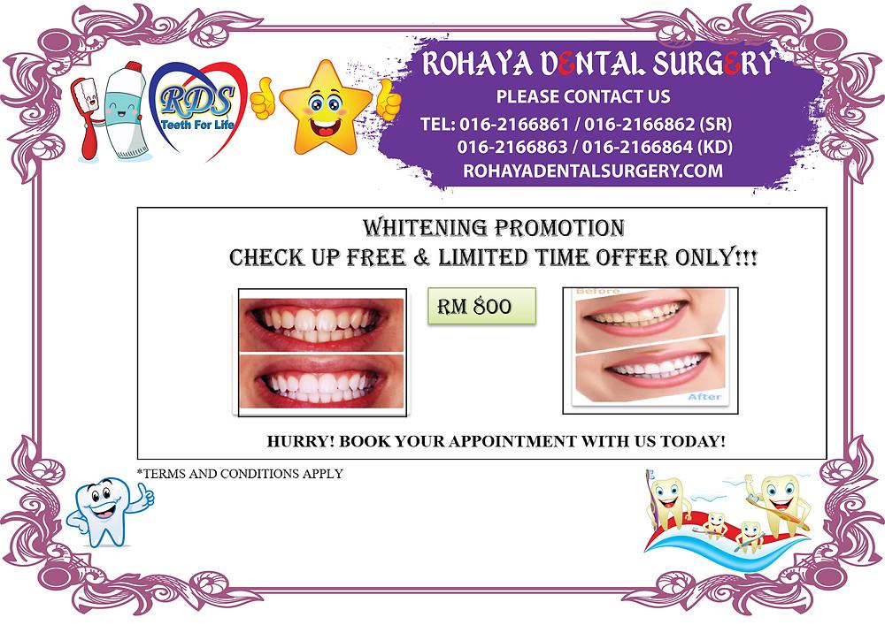 Whitening Promotion Rohaya Dental