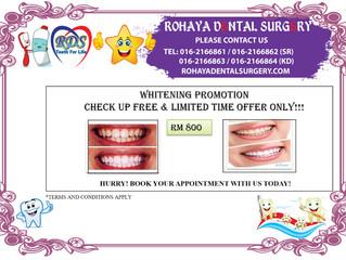 Whitening Promotion
