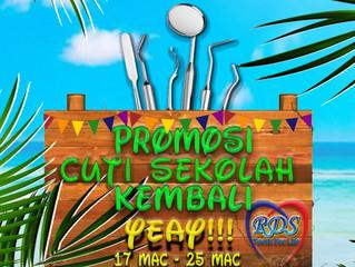 PROMOSI CUTI SEKOLAH KEMBALI YEAY!!!!