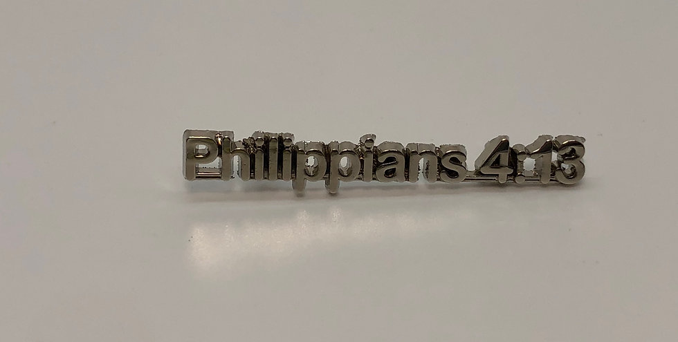 Philippians 4:13 Scripture Pin
