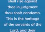 Isaiah 54:17 Scripture Bookmark -Pack of 10