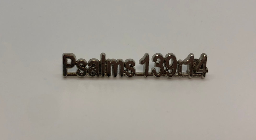Psalms 139:14 Scripture Pin
