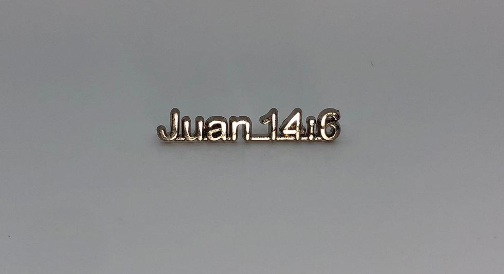 Juan 14:6 Scripture Pin