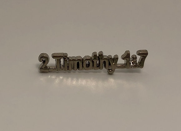 2 Timothy 1:7 Scripture Pin