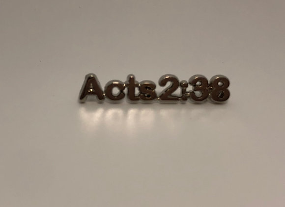 Acts 2:38 Scripture Pin