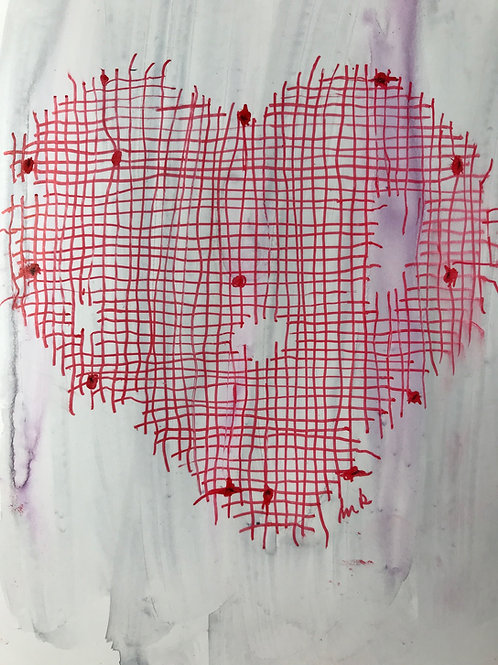 Raggedy heart 1