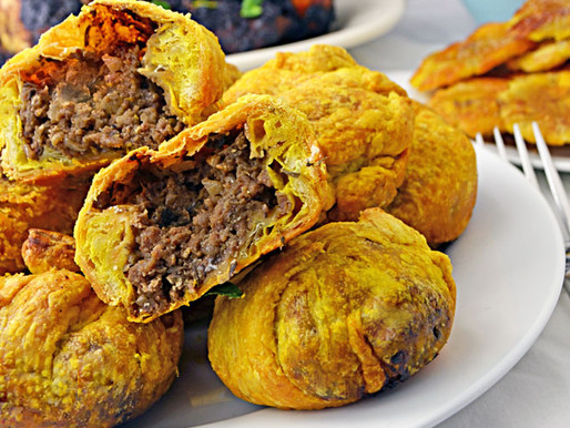 3-Bit Jamaican Beef Patties