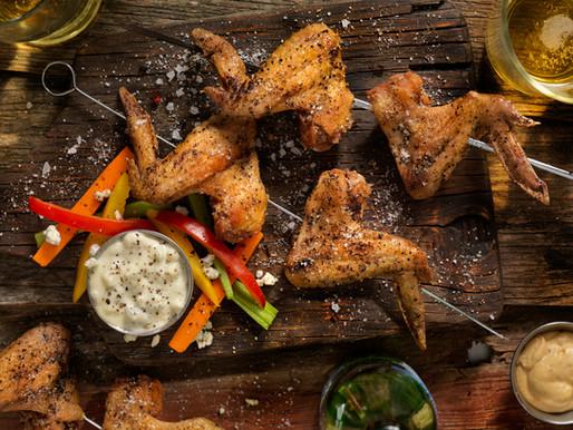 Oma & Popie's Twice Baked Butter Chicken Wings