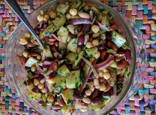 4X Crazy Vegan Bean Salad