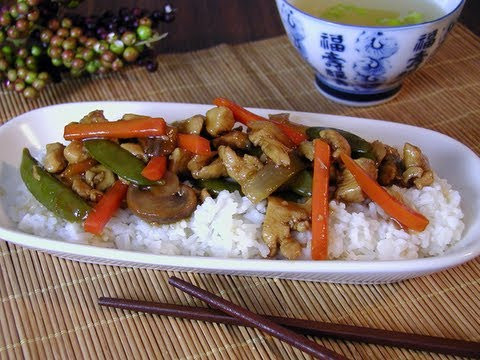 General Popie's Chicken Stir Fry