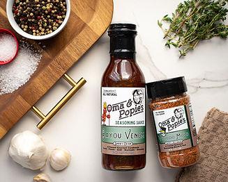 Oma & Popie's Bayou Venom Seasoning Sauc