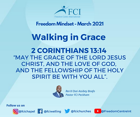 Walking in Grace - A promise from God(4)