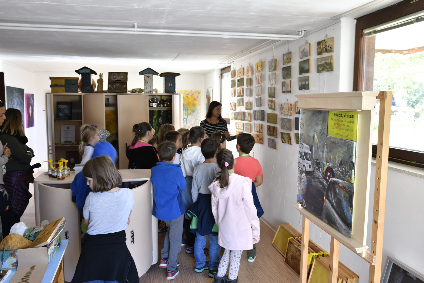 Spoznavanje čebelarske dediščine pri Anji