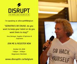 Disrupt HR Keynote