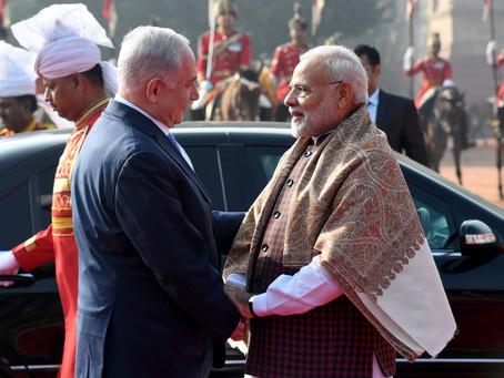 A Love Story: Modi and Netanyahu