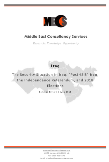 Iraq Security Situation | Summer 2018