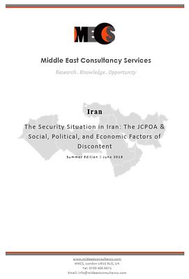 Iran Security Situation | Summer 2018