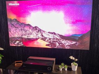 Hisense 4K TriChroma Laser TV 100L7T: проекторная система с тремя лазерами, экраном 100 дюймов и зву