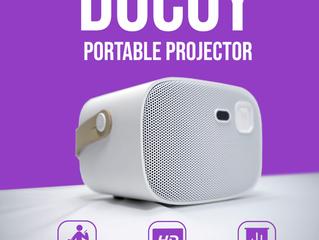 Docoy - переносной проектор + акустика