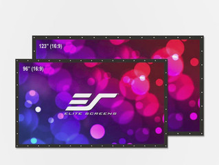 Elite Screens DIY Pro Dual: двухсторонний уличный экран для 4K/HDR-проекций