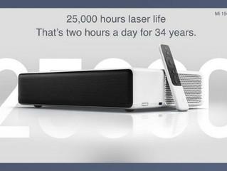Представлен проектор Xiaomi Mi Laser Projection TV стоимостью $1470: диагональ 150 дюймов с расстоян