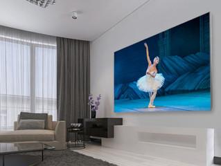 Stewart Filmscreen Balon Borderless: безрамочный проекционный экран с эффектом парения в воздухе