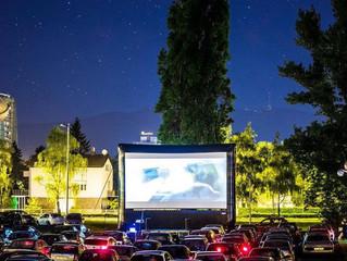 Новые надувные экраны Airscreen Drive для современных автомобильных кинотеатров