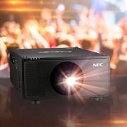 NEС представит свой новый лазерный проектор на выставке ISE 2020