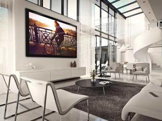 Компания Severtson Screens выпустила экран со съемной рамкой