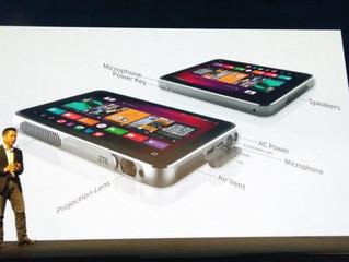 MWC 2016: ZTE представила планшет SPRO Plus с проектором