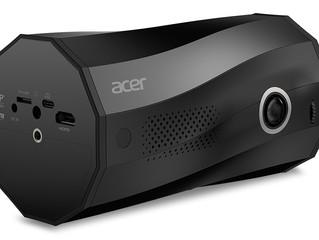 Acer представляет портативный LED-проектор C250i — первый в мире проектор с автоматическим переключе
