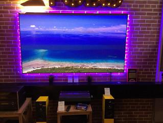 ALR экран для домашних ультракороткофокусных проекторов