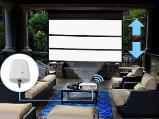 Elite Screens представила беспроводной триггер ZOMS-TR12V для моторизированных проекционных экранов