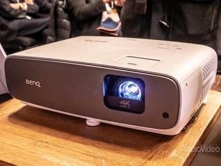 Недорогой и цветастый проектор BENQ