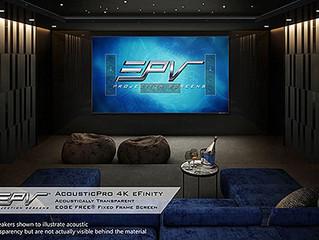 EPV Screens AcousticPro 4K eFinity: акустически прозрачный проекционный экран для UHD-видео
