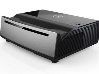 Лазерный проектор Dell Advanced 4K Laser Projector (S718QL) формирует изображение размером 2,5 метра