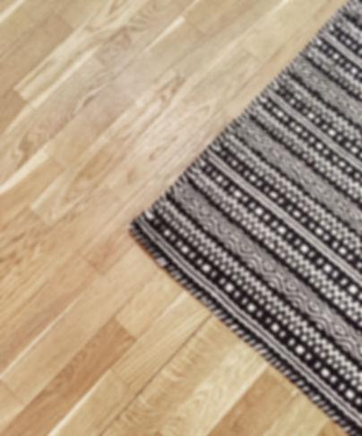 Rug on floor