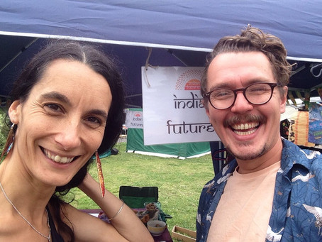Indian Futures' first public appearance!